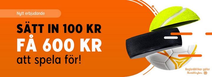 888Sport travbonus upp till 500 kr