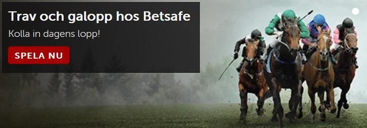 Spela på trav hos Betsafe och NordicBet