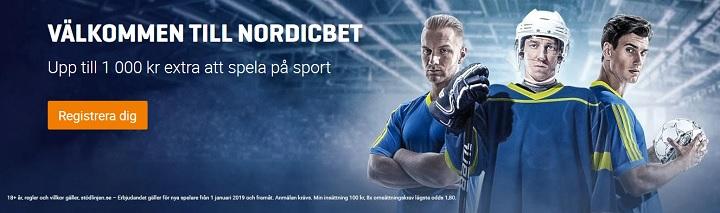 Stort utbud av galopp och trav hos NordicBet